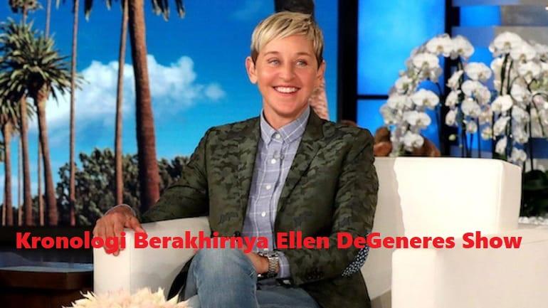Kronologi Berakhirnya Ellen DeGeneres Show Setelah 19 Tahun Mengudara